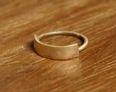Banner Ring in Brass