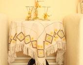 Square Cloth With Eastren Design (ready to ship)
