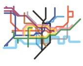 Squeezed London Underground