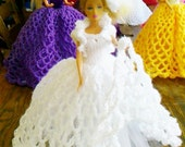 New Handmade  VICTORIAN STYLE BALLGOWN clothes for Barbie Dolls designed and made by nannycheryl  916  (6)