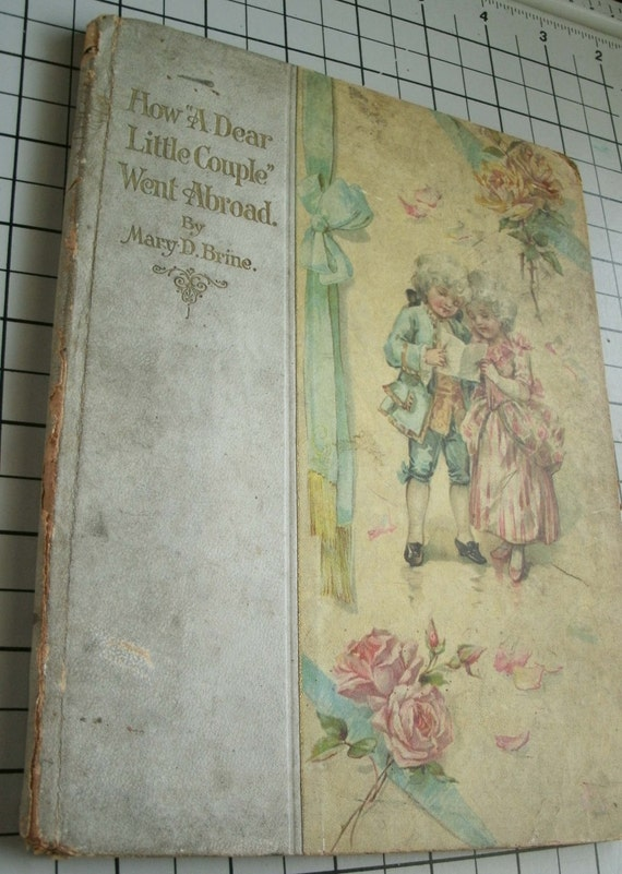 vintage book How a Dear Little Couple Went Abroad by Mary D. Brine