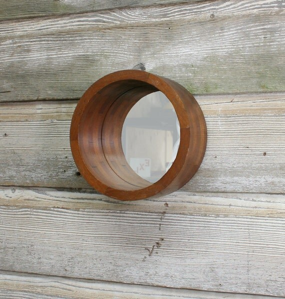 Vintage Foundry Mold Mirror