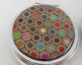 Cross Cut Colored Pencil Compact