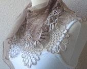 Light Brown 2012 Fashion-SHAWL-Turkish Style-Yemeni Style-Turkish Traditional Scarf
