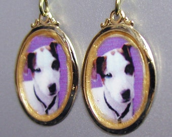 JACK RUSSELL  Dog Love Earrings