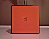 Vintage Hermes classic orange gift box