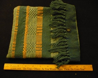 Tablet sleeve from handwoven vintage fabric