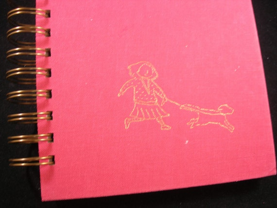 Margie and Me children's book upcycled into blank journal