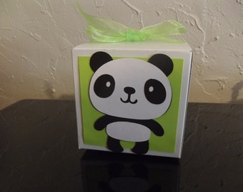 Panda Party Favor Box (Set of 8)