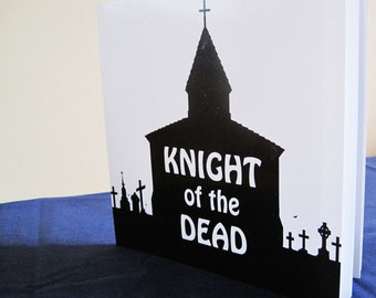 Illustrated Medieval Zombie Booklet - Knight of the Dead