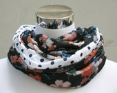 """Spring/Summer infinityscarf """"Floridity"""""""