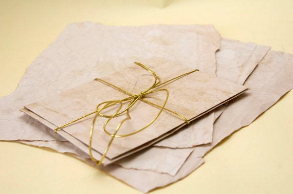 VINTAGE Paper-Envelope 2 pieces - One Envelope and one Writing Paper