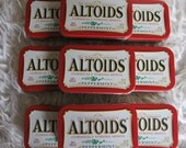 Reserved for Kimberley-28 Empty Altoid Tins-Peppermint Altoid Tins- Altoid Tins