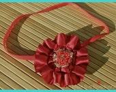 Mini Valentine's Day Red Baby Headband