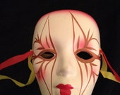 Hand Painted Cermaic Mask