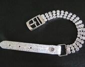 Handmade Swarovski Crystal Dog Cat Collar Necklace