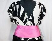 1970s Print Silken Shirt