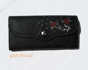 Ladybugs Are Back in Town - Hand-painted Purse
