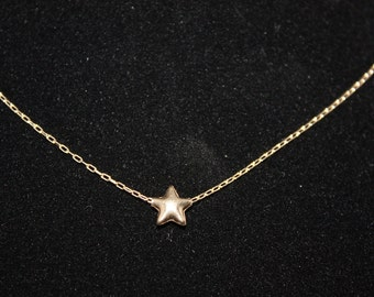 STARRY STARRY NIGHT - 14kt gold filled star necklace