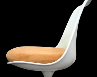 Slip-on Cushion Cover for Saarinen Tulip Side Chair (Orange)