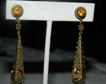 ON SALE Victorian Earrings