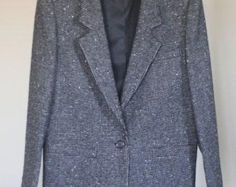 vintage pendleton 80s womens wool tweed suit