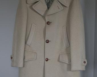 vintage pendleton midlength mens coat