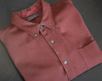 vintage pendleton mens wool shirt