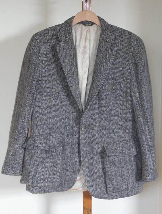 vintage harris tweed sport coat