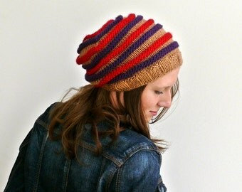 womens hats slouchy hat womens slouchy hat brown red purple winter accessories fall fasshion