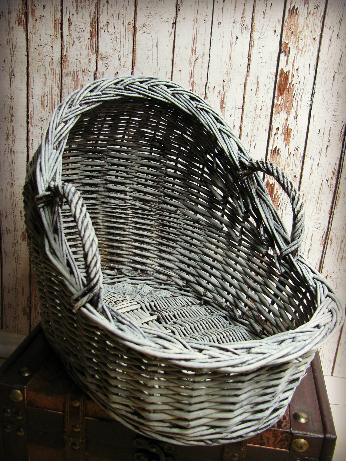 Newborn Wicker Moses Basket Photography Prop 15 3 Long X