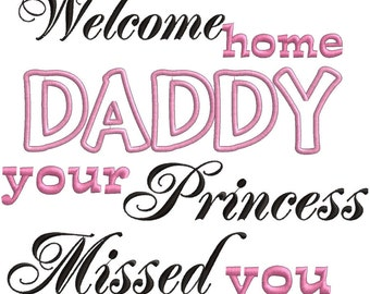 Welcome Home Daddy Colouring Pages page 2