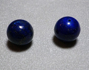 Lapis Ball Beads 13mm - 14mm
