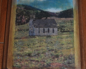Little Church in Creede on Basswood