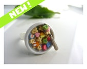 Cereal Ring- Choose from Lucky Charms, Fruit Loops, Pac man and more!