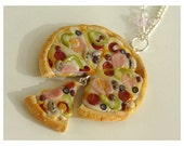 Deluxe Supreme Pizza Necklace