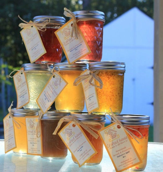 Jelly / Jam Pack of 5