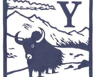 Y - Yak