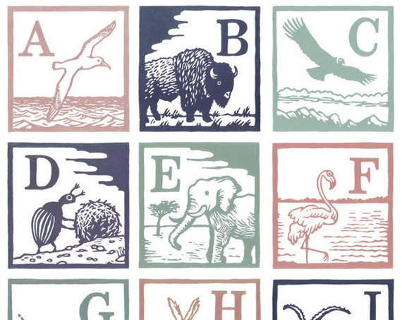 A - Z Complete Set of Prints