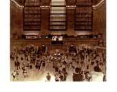Grand Central, NYC - Lith print