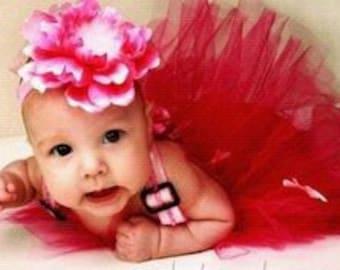 Baby Headband - Flower Headband - Newborn Baby headband - Infant Headband - Photography Prop