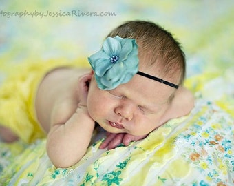 Baby girl headband -  Infant Headband - Photography Prop