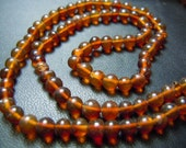 14'' Gorgeous Natural Russian Amber Smooth Round Beads Size 5MM Approx