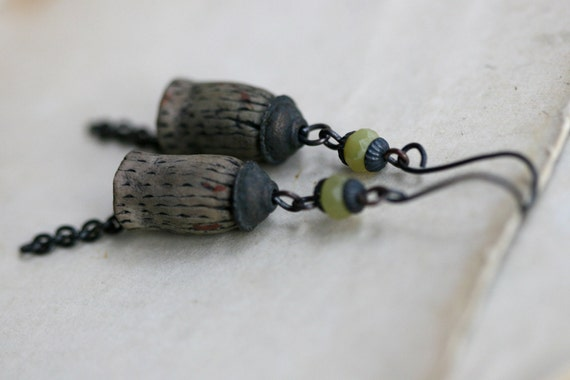 Organic Citric Pods earrings