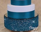 """12"""" Bling cake stand - Glitter cake stand Birthday cake stand - Birthday"""