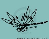 Dragonfly - wall decal
