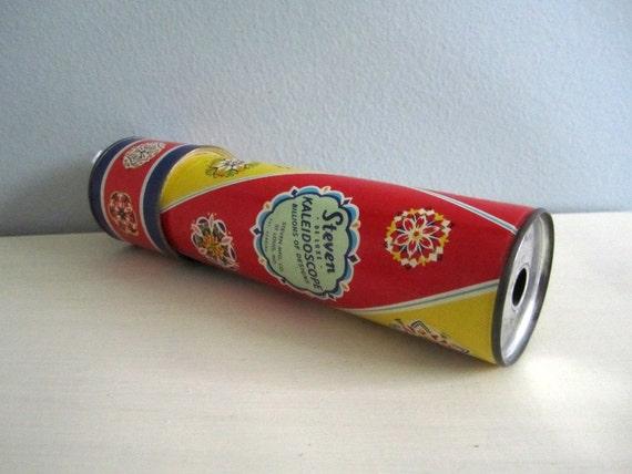 Vintage 1950s Steven De Luxe Kaleidoscope Toy