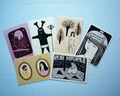 My Favourite Little Postcards - 6 Little Postcards.