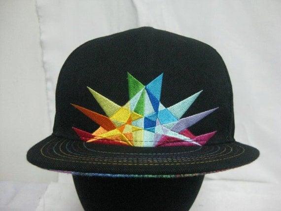 SIZE 7 Saxton Waller ROYGBIV hat