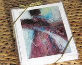 Woman with a Shawl -  a box of 5 notecards